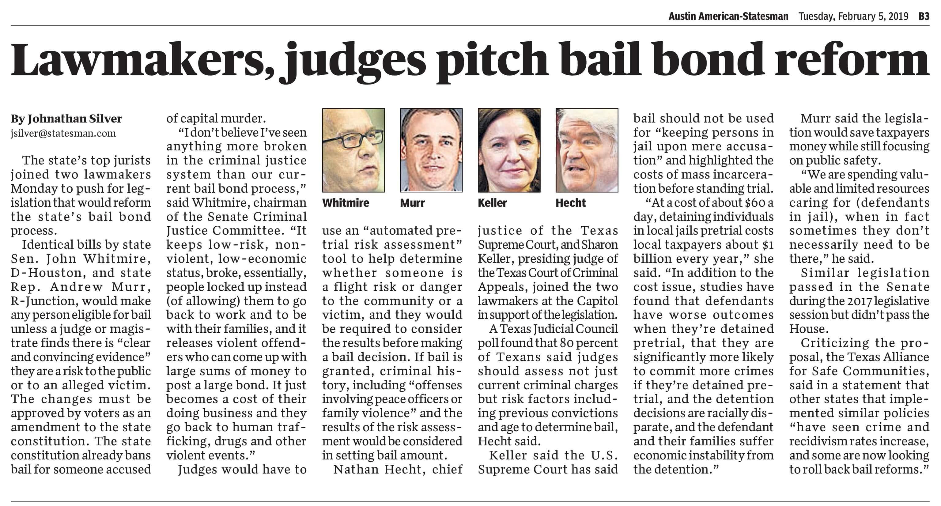 Austin Criminal Defense Lawyer - Bond